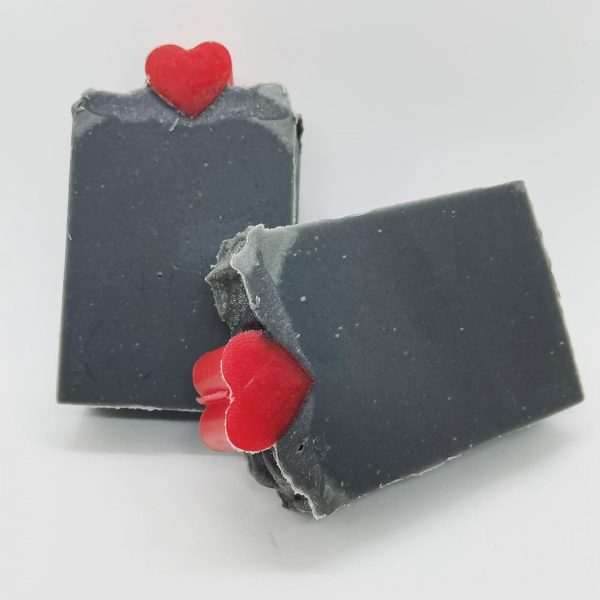 Activated Charcoal with Tea tree, Patchouli and Peppermint essential oils